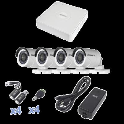 KITS 4 cámaras