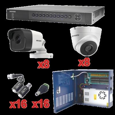 KITS 16 cámaras